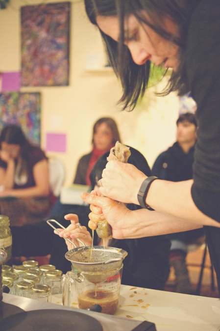 Making Herbal Remedies in the Classroom ~ Photo by Payneless Photography