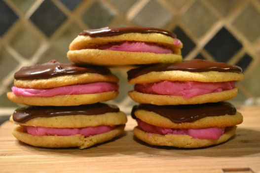 Prickly Pear Mesquite chocolate cookies